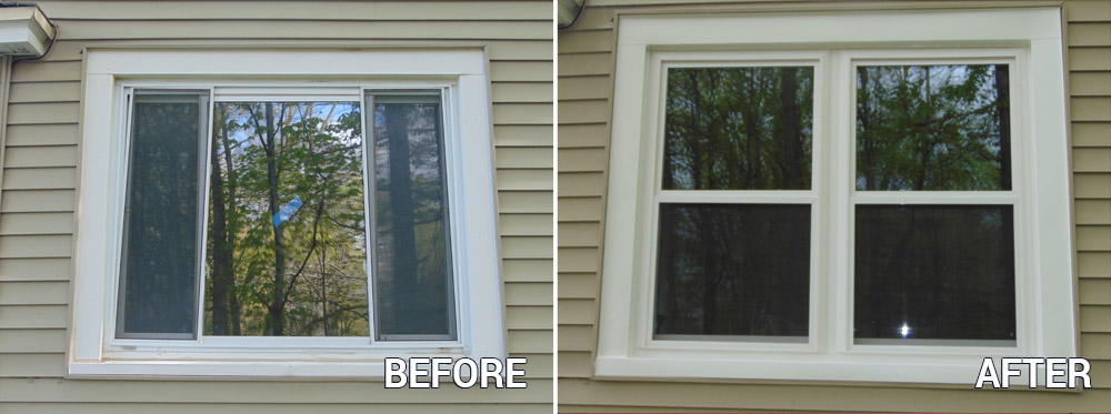 Before After Window Replacement Picture